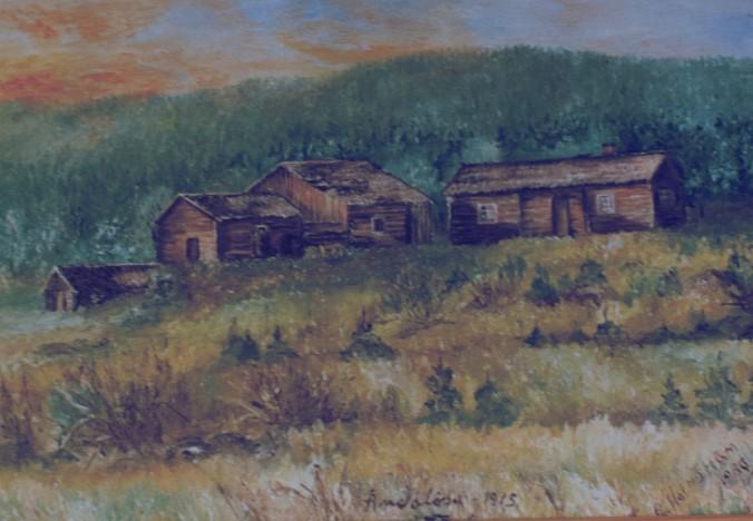 Ändalösa målning